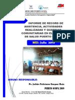 Mi Informe Julio 2019 - Jfgr