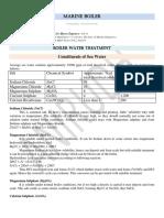 Boiler Water Treatment-6 Hrs