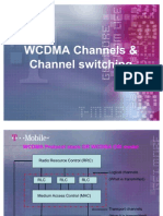 WCDMA Channels Channel Switch