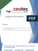 5.- Auditoria Informatica - Metodologia de Auditoria
