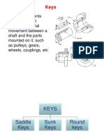 Keys-Pin and Cotter Joints