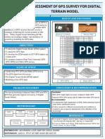 Assessment of GPS Survey for Digital Terrain Model
