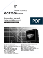 GOT2000 ConnectionManual MitsubishiProduct GTW3v1 081197-J