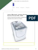 Limpeza e manutenção - Lava e seca Electrolux 12Kg - LST12.pdf