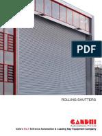 Rolling Shutters Brochure