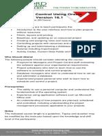 Planning Control Using Oracle Primavera p6 Ver 16.1 2