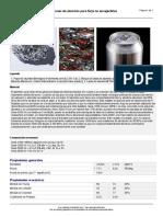 Aleaciones ligeras Aluminio