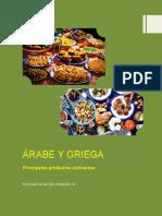 Cocina Árabe y Griega