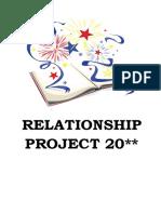 SCRIBD Relationship Project