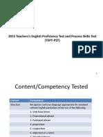 10-TEPT 2015 PCR Ppt Presentation davao.ppt