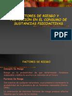 Factores de Riesgo y Protección en El Consumo de Sustancias Psicoactivas