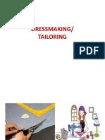 Dressmaking Power Point
