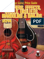 Official Vintage Guitar Magazine Price Guide - Amplifs & Banjos 2014, The - Greenwood, Alan & Hembree, Gil