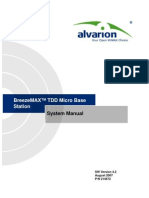 BreezeMAX TDD Ver.4.2 Micro Base Station System Manual_070827