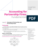 CHAPTER ONE Accounting for Partnership Firms_ Fundamentals - PDF