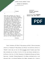 SteinHauser v.CitySt.Paul_Magner et al CV-04-2632