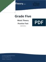 Grade 5 Practice Test