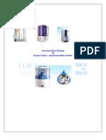Communiaction Strategy of Aquaguard