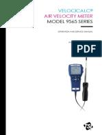 Manual Velocical - Air Velocity Meter