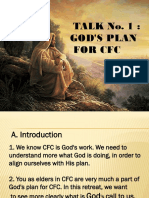 MCR Talk 1- Gods Plan for CFC
