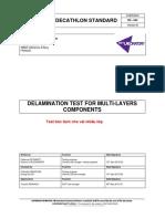 DS044B Delamination Test for Multilayer Component