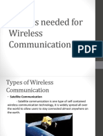 Devices Needed for Wireless Communication