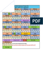 Thapar academic calendar