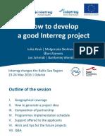 MalgorzataSkolmowska_How to develop a good Interreg project