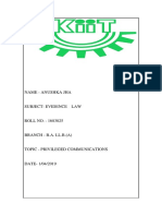 Evidence Law Project (1)