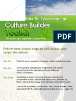 Culture Builder Toolkit Assessment