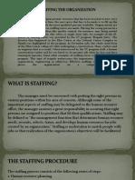 5.Staffing the Organization 1