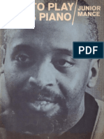 How to Play Blues Piano - Junior Mance 1967 Book [1]