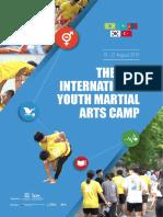 Олон улсын залуучуудын тулааны урлагийн зуны сургалтын зургийн цомог