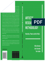 artist research metodology