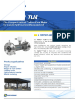 The Compact Helical Turbine Flow Meter for Liquid Hydrocarbon Measurement