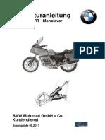 BMW R100RT Reparaturanleitung