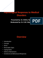 Psychological Responses to Medical Disorders