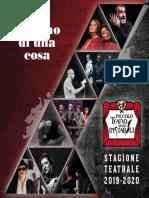 Cartellone Programma Piccolo Teatro Degli Instabili