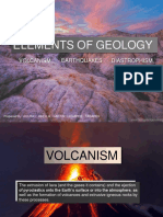 (Volcanism, Diastrophism, Earthquake)