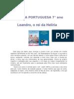 Leandro Rei Da Heliria Texto