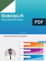 Resume PowerPoint Templates