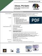 IT 052 Capacryl PU-Gloss PU Satin