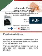 Conferência de Projetos Arquitetônicos