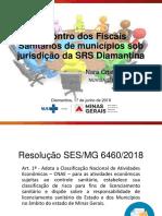 Encontro Dos Fiscais Sanitários de Municípios Sob Jurisdição Da SRS Diamantina (1)