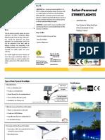 Solar Streetlights Brochure v0