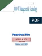 Dbms SQL File
