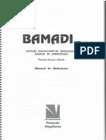 Bamadi Manual de Referencia