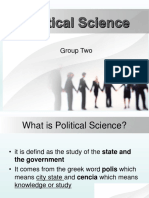 2. Political Science