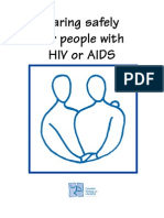 Health Brochures - Caring Safely for People With HIV or AIDS