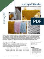 ChicorySticks Astrophil Blanket
